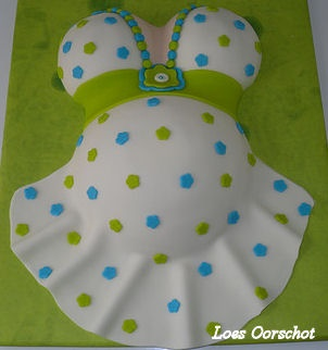 babyshower made by Loes Oorschot Netherlands