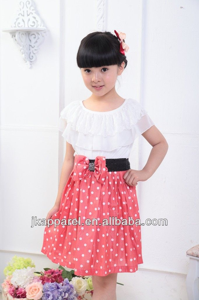 2014 ropa de niña de punto de moda niños vestido casual-Vestido de niña-Identificación del producto:300001419974-spanish.alibaba.com