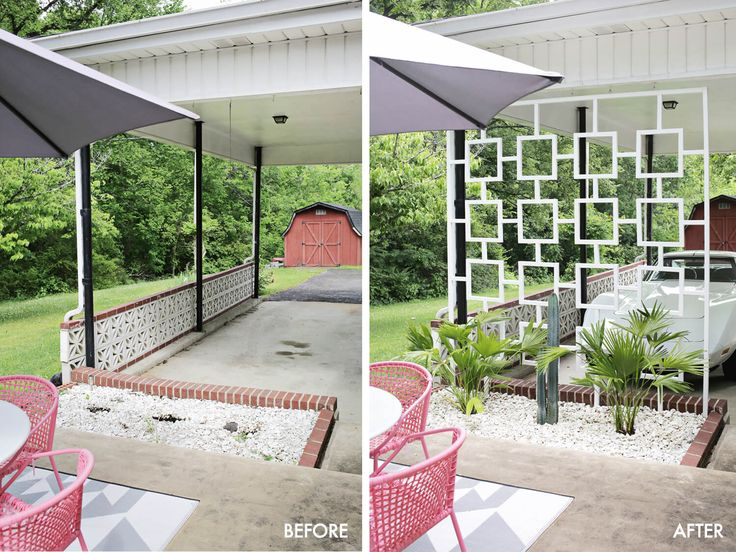 Image result for mid century modern courtyard tropical