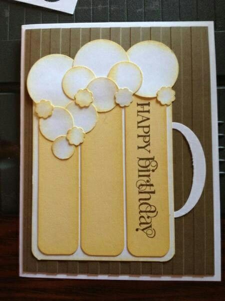 Birthday mug card