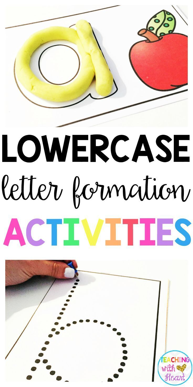 Help your students get ready to write with these hands on letter formation activities! This resource is packed with engaging activities to help your little learners practice correct letter formation without picking up a pencil.
