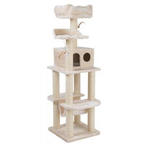 Cat Tree La Digue | Free P&P on orders £59.90 at zooplus!recommended on bengal forum as very sturdy
