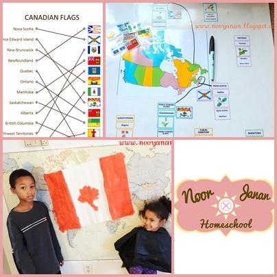 Noor Janan Homeschool: Canada Country Study