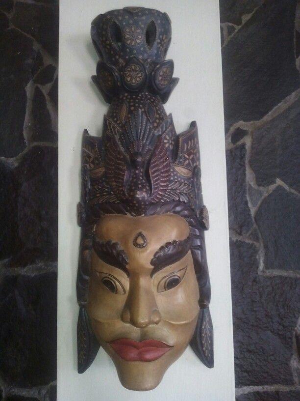 Mask Batik Wood