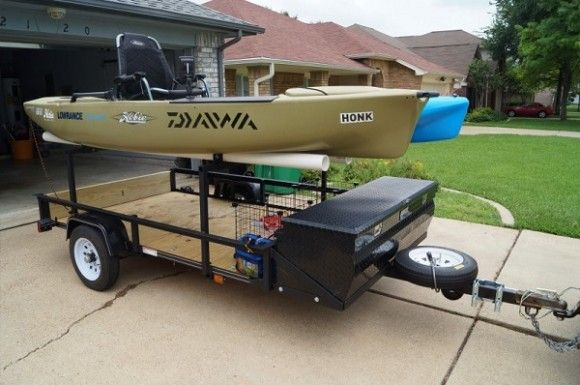 If you have a kayak and you've been thinking of building or buying a trailer, congratulations. We're in the same boat. I've got 4 kayaks, and I need a better way of hauling them to the lake, so I've been looking into options. Kayak Trailer Options One option is just to get an enclosed trailer …