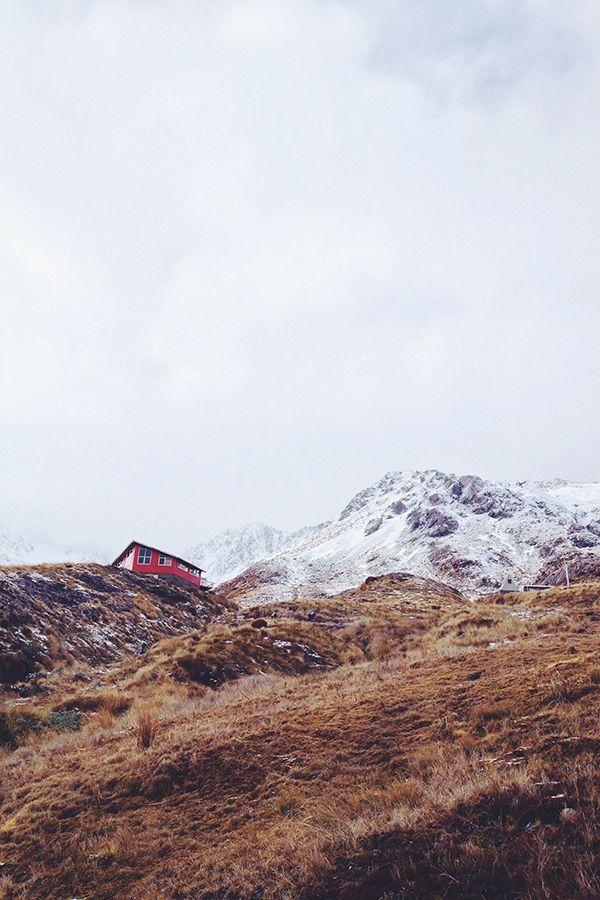  T e m p l e B a s i n   ↟ on the hike up to temple basin ski field in arthurs pass ↟
