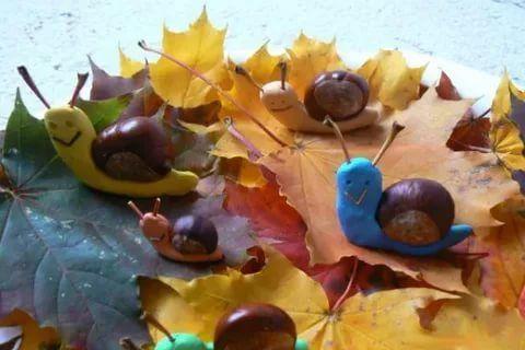 поделки из пластилина и природного материала на тему осень: 12 тыс изображений найдено в Яндекс.Картинках