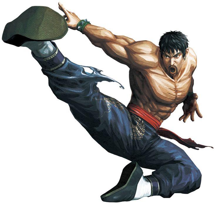 Marshall Law from Street Fighter X Tekken