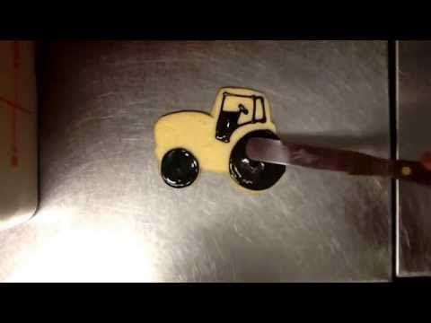 YouTube. How to make john deere tractor cookie