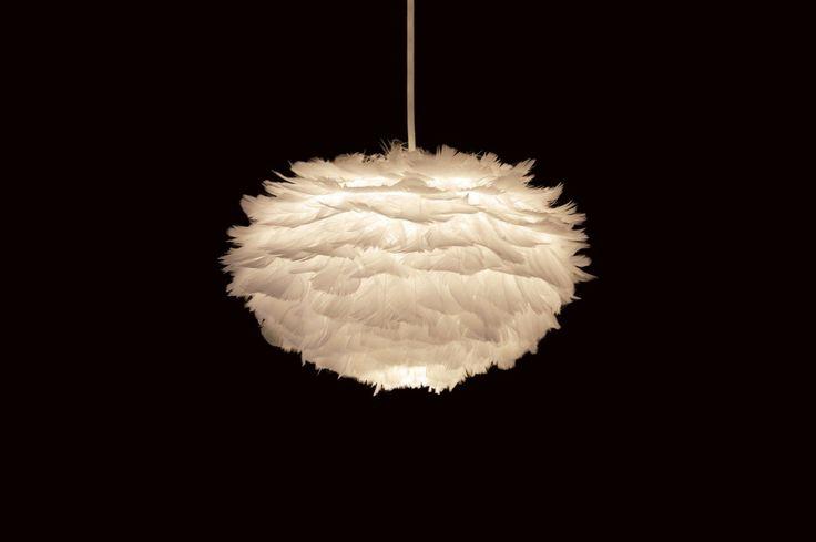 Vita hanglamp voor in de slaapkamer