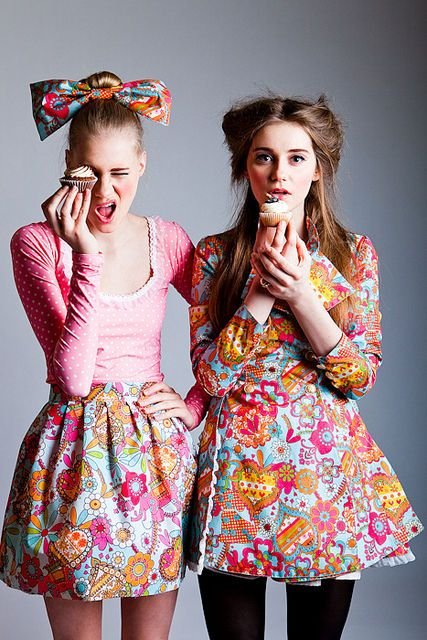 So I just had to post this photo. First of all for the amazing, cute, quirky photography editorial that it is. However, secondly for the excitement of my 19th birthday on Friday! June 1st - I'm a June baby, Gemini and winter lover (those in the southern hemisphere). I prefer cupcakes to cake - they're just prettier in my opinion. I have a gorgeous ASOS dress that I want to wear but only if the Sydney weather permits. Crossing fingers for a good weather day! PS. There might be a few m