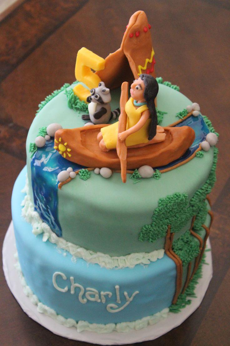 Pocahontas Girls Birthday Cake Cupcakes Pinterest