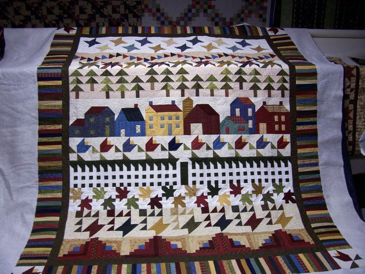 92 best Row quilt images on Pinterest | Projects, Landscapes and ... : row quilts patterns free - Adamdwight.com