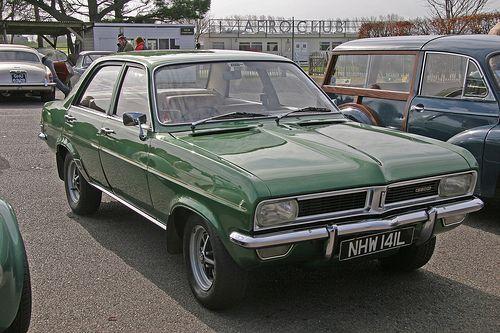 Green Vauxhall Viva