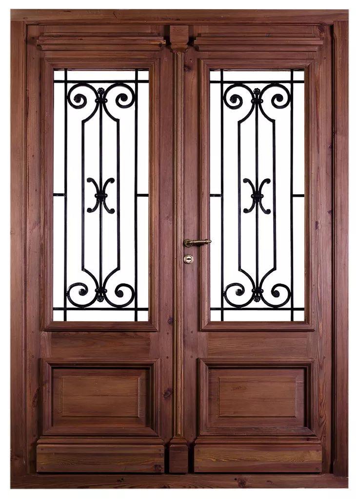 M s de 25 ideas incre bles sobre puertas de entrada en for Puertas modernas de entrada principal metalicas