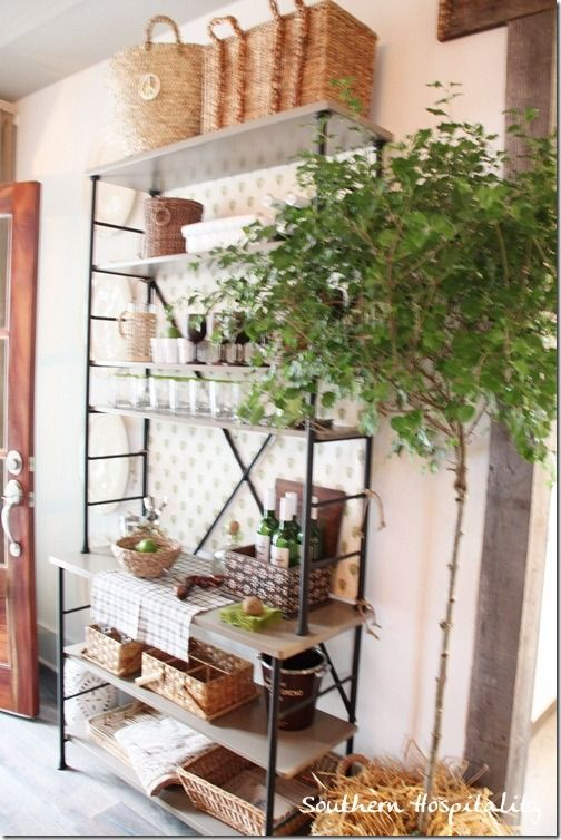 Best Decorated Bakers Rack Inside Outside Images On