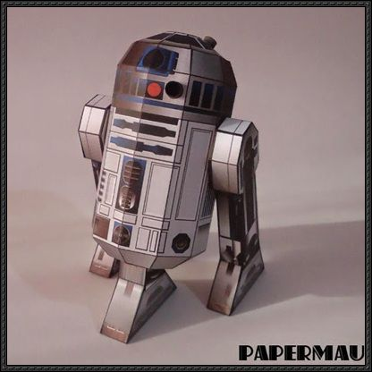 Star Wars - R2-D2 Ver.6 Free Papercraft Download - http://www.papercraftsquare.com/star-wars-r2-d2-ver-6-free-papercraft-download.html