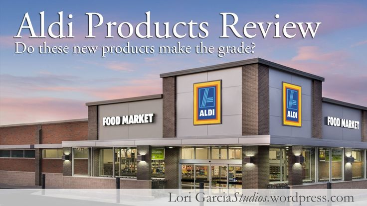 Aldi Product Reviews --- Need to read these!