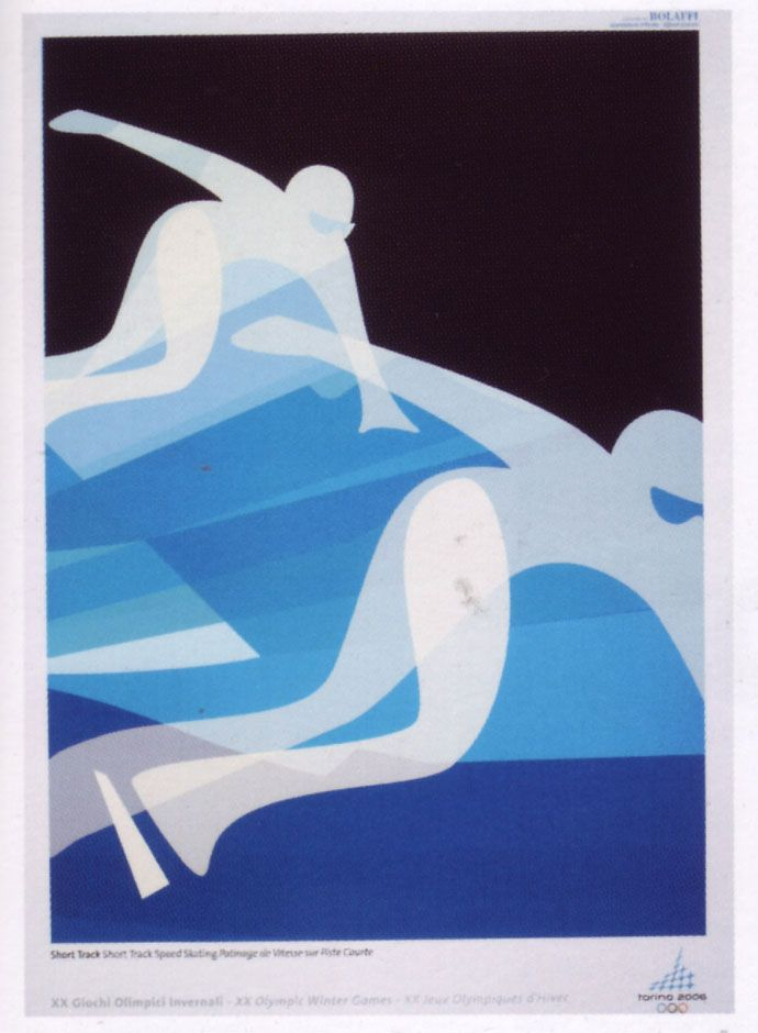 Best Winter Olympics posters, 2006 Torino, Italy - The Piedmontese city of Torino hosted what was Italy's second Winter Olympics. It was the biggest and most successful Winter Games leaving a significant and lasting legacy. #TuscanyAgriturismoGiratola