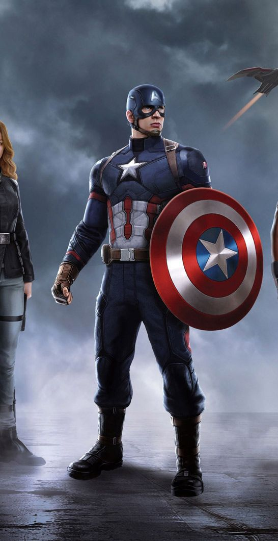 478 best images about movie wallpapers on pinterest - Avengers civil war wallpaper ...