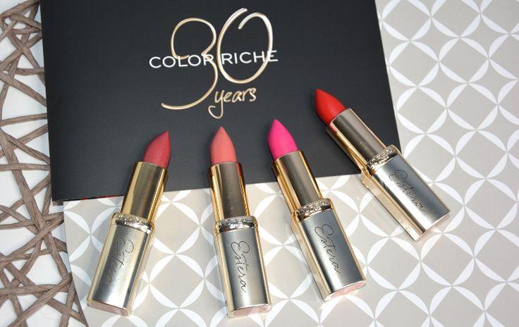 Szminka L'Oreal Paris Color Riche ma już 30 lat!