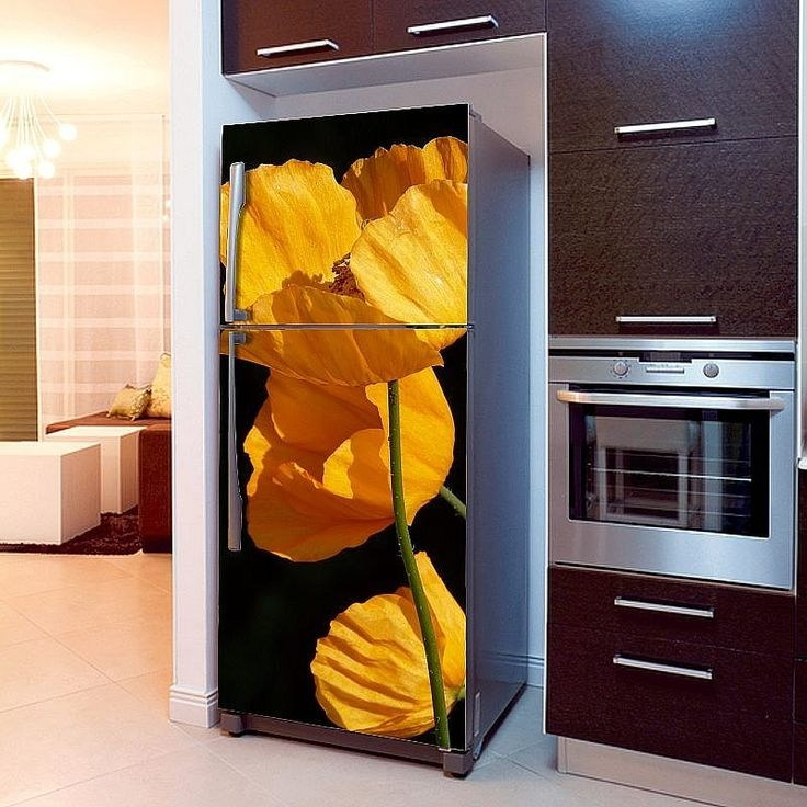 Fototapeta na lodówkę - Żółte maki | Fridge wallpaper - Yellow Poppies | 51,60PLN #fototapeta #fototapeta_lodówka #dekoracja_lodówki #wystrój_kuchni #dekoracja_kuchni #maki #maki_dekoracja #photograph_wallpaper #fridge_wallpaper #fridge_decor #fridge_design #kitchen_decor #kitchen_design #flowers #flowers_decor #design #decor #poppies