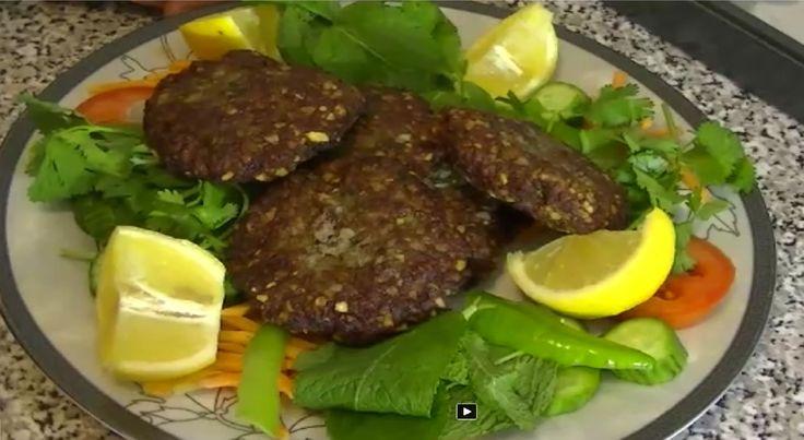 Afghan chapli kabob recipe 39 afghan cuisine 39 afghan food for Afghan kabob cuisine