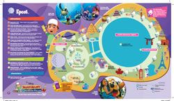 Walt Disney World Maps for Kids