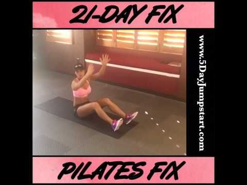 21-Day Fix Pilates Fix workout - YouTube