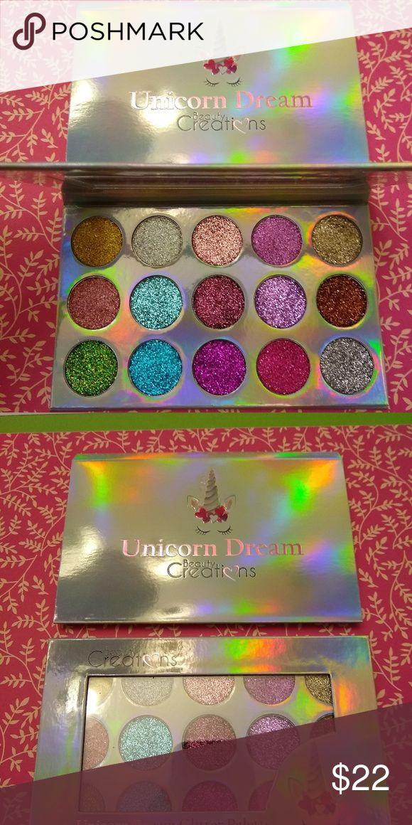 Beauty Creations Unicorn Glitter Eyeshadow Palette