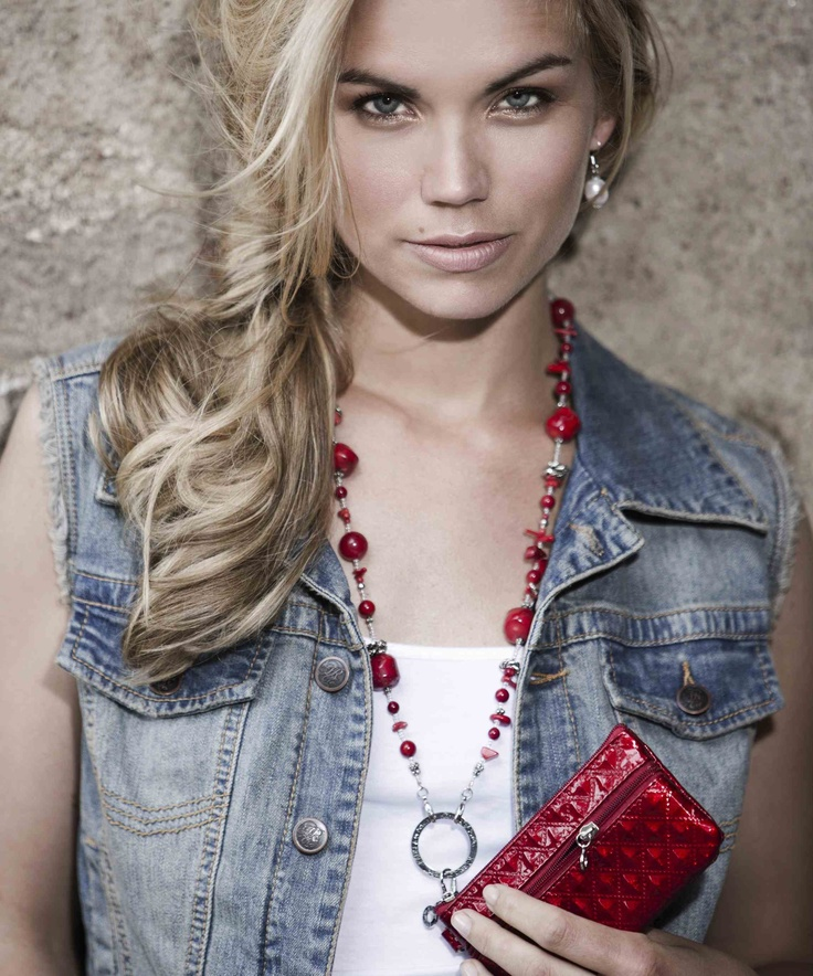 Red Coral and Jade! KÄNSLA of Sweden - Fashion with Function Jewellery.