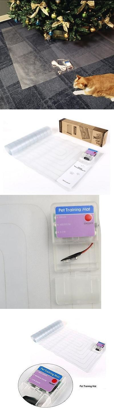 House Training Pads 146243: 20X 48 Electronic Pet Training Pad Dog Cat Barrier Repellent Shock Scat Mat BUY IT NOW ONLY: $31.75