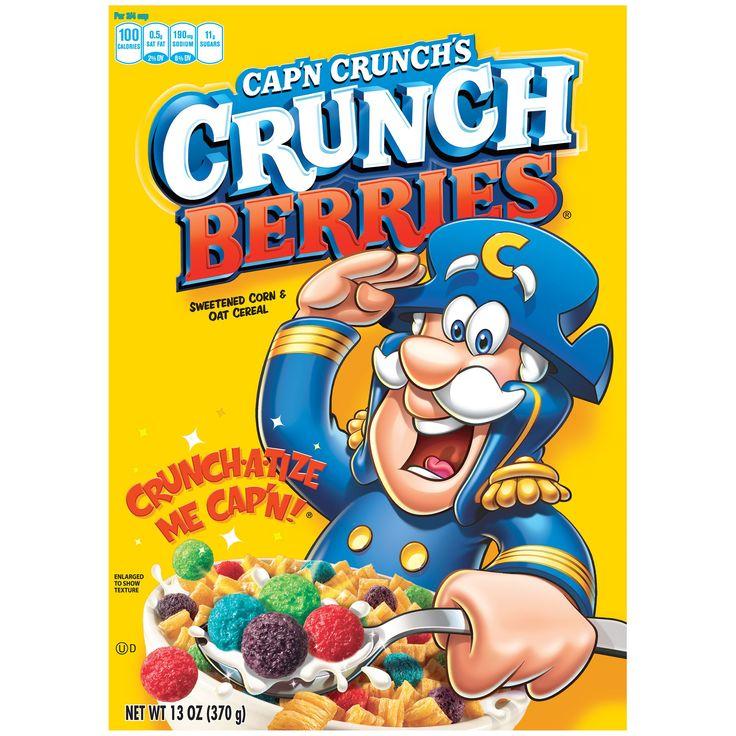 Cap'n Crunch Crunch Berries Cereal
