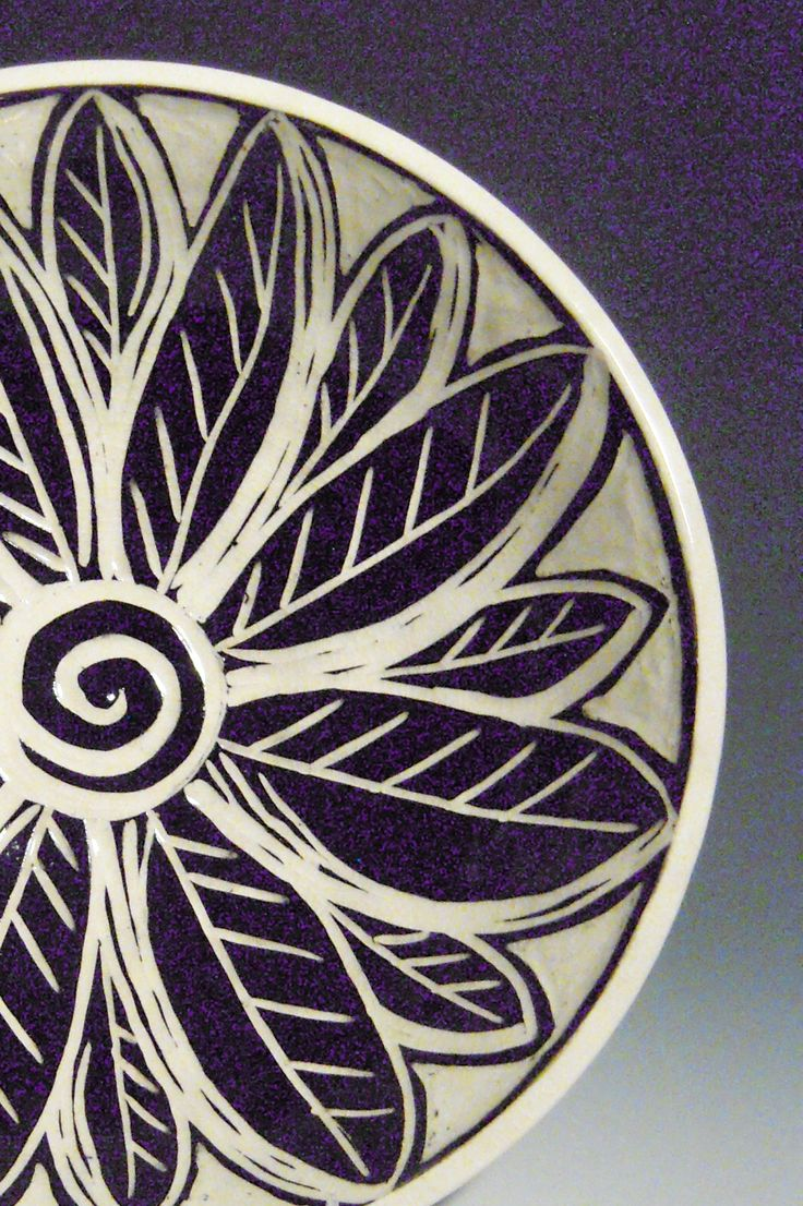 Sgraffito Bowl by Linda Ellard-Brown