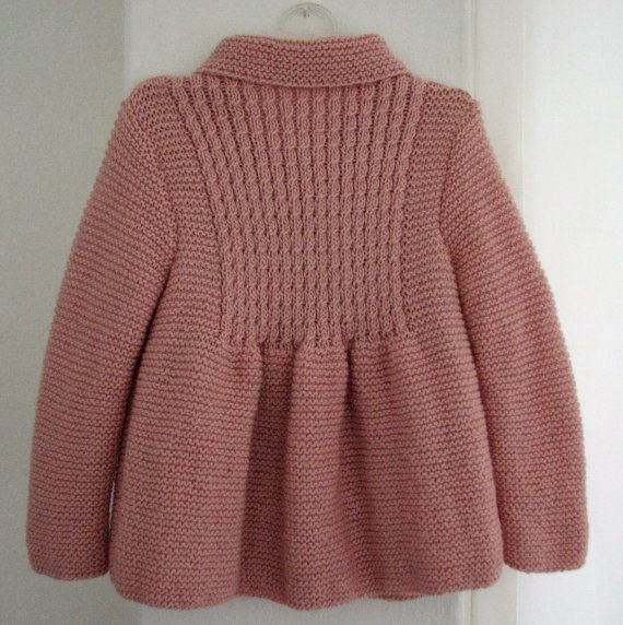 Little Princess Coat For 2 to 3 Year Old Girls by AuthenticKnit