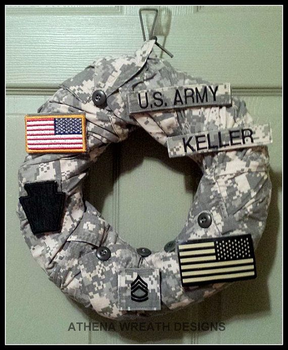 Military Wreath, Army, Navy, Air Force , Marines, Coast Guard, Military Retirement, Chinese Auction Items, Custom Unique Wreaths, Handmade