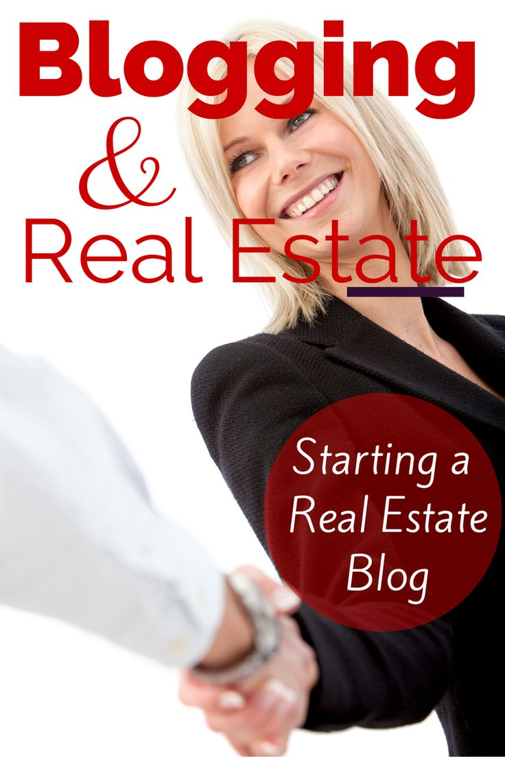 Blogging And #RealEstate - How to start a successful real estate blog: http://greatcoloradohomes.com/tips-new-real-estate-agents-start-real-estate-blog/