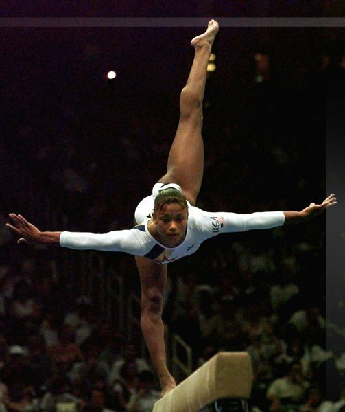 Are romanian gymnast sexy talented