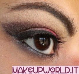 "Makeup Tutorial ""Rosso-Marrone-Nero"" #makeup #tutorial #makeuptutorial #beauty #trucco #eyeshadow #ombretto #red #brown #black #rosso #marrone #nero #howto"