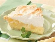 amish pineapple cream pie~1 can eagle brand milk  3 T lemon juice  1 large carton cool whip  1 large can crushed pineapple, drained  beat milk & lemon juice together; then add pineapple & cool whip.  stir until well mixed. pour into 2 graham cracker crusts. chill  several hours.