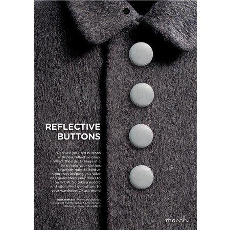 Refleksknapper design.