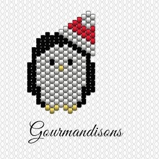 Grille pingouin - Gourmandisons