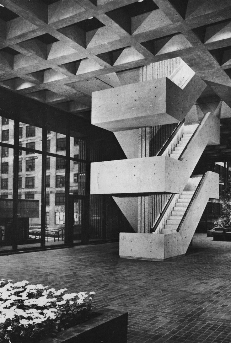 Blue Cross Blue Shield Building, Chicago, Illinois, 1970s (Otto Stark of C.F. Murphy Associates)