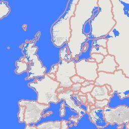 Topografie waarbij landen en steden worden voorgelezen. Hulpmiddel voor kinderen met dyslexie.