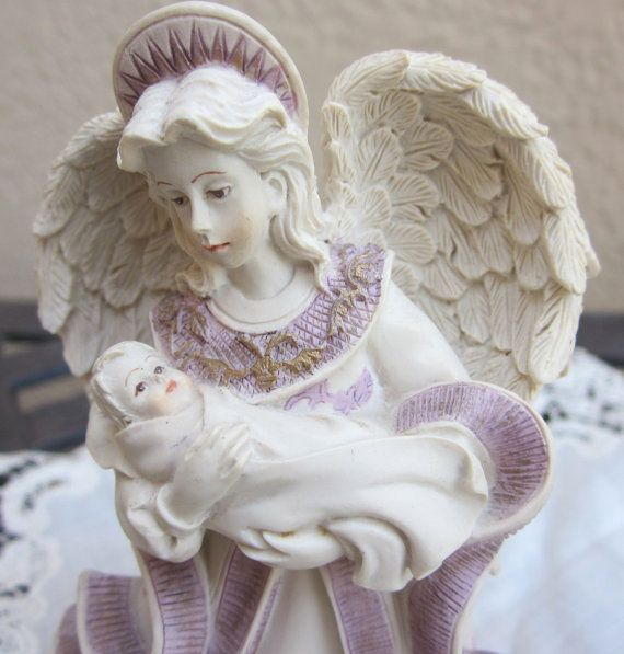 Sarah's Angels Mother's Day figurine  Collectible by MagpieSue, $7.99