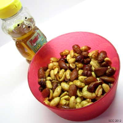 Homemade Honey Roasted Nuts w/ a Kick. | Snack Attack | Pinterest