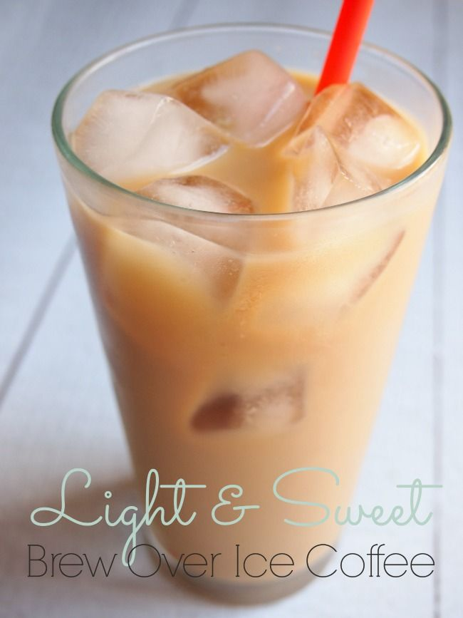 Light & Sweet Iced Coffee with Keurig Brewer #BrewOverIce
