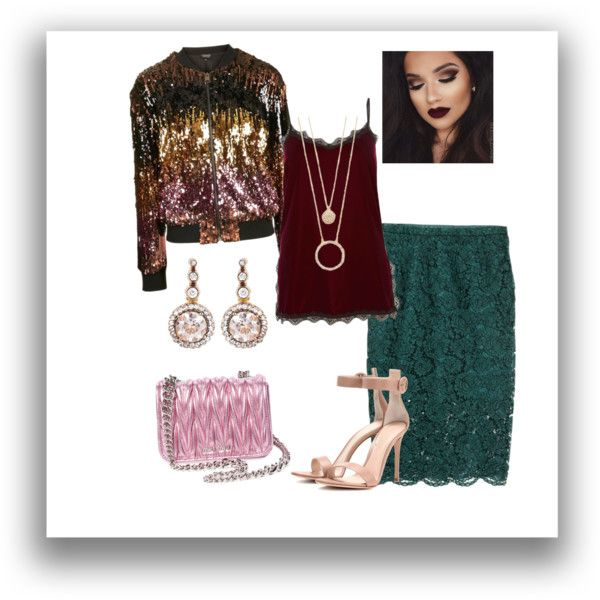 Trend by elvira-lela on Polyvore featuring мода, River Island, Topshop, H&M, Gianvito Rossi, Miu Miu, Selim Mouzannar and Kate Spade