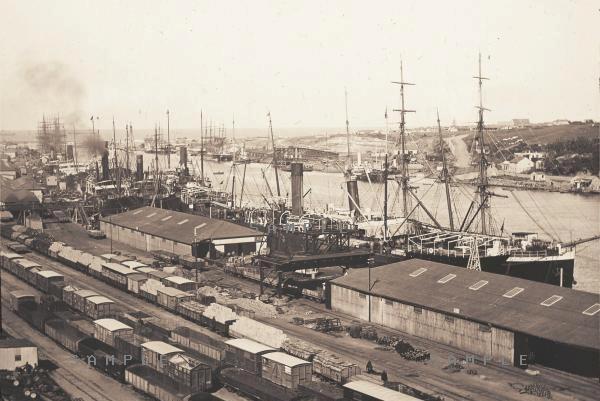 The East London Harbor
