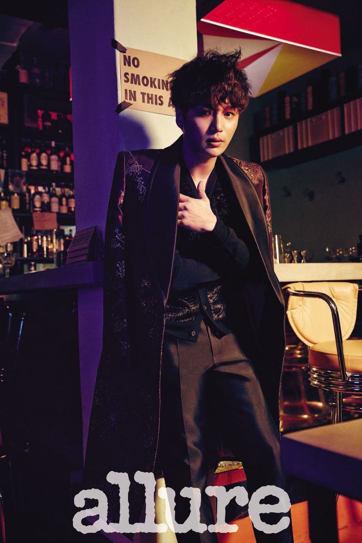 Byun Yo Han - Allure Magazine February Issue '15
